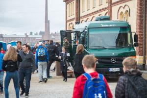 Soldathemsföreningens mobila soldathem.