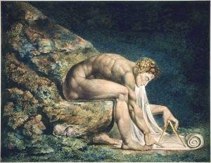Isaac Newton av William Blake.