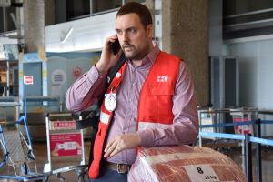 Andreas von Weissenberg är chef för internationella katastrofhjälpen vid Finlands Röda Kors.