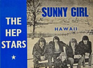 Konvolutet till singeln Sunny girl med Hep Stars