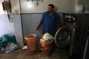 FN larmar om kris i Ghouta.