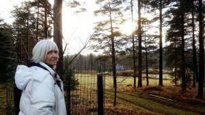 Anna Lena Bengelsdorff på Kila gård i Tenala.