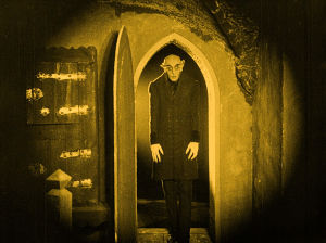 Max Schreck on Nosferatu samannimisessä elokuvassa