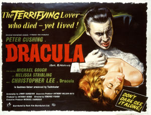 Elokuvan Dracula, pimeyden prinssi englanninkielinen mainosjuliste