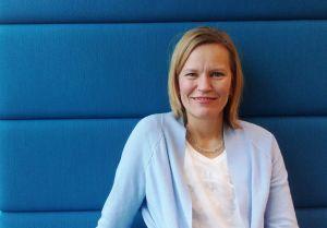 Helsingin Sanomats kulturchef Katarina Baer.