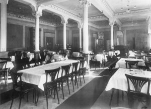 Restaurang Catani i Helsingfors på 1920-talet.