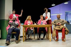 Jan-Christian Söderholm, Markus Lytts, Tove Qvickström, Carola Sarén, Lina Ekblad, David Robertson. Foto: Linus Lindholm