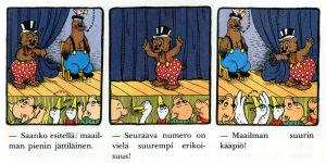 Rasmus Nalle sirkuksessa