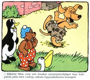 Rasmus Nalle ja housut
