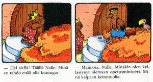 Rasmus Nalle kuninkaana