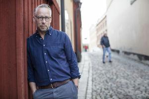 Den svenska journalisten Po Tidholm.