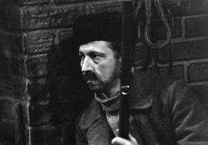 Näyttelijä Veijo Pasanen (Lennu) tv-draamassa Lennu (1967).