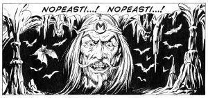 Tex Willerin pahin vastustaja Mefisto.