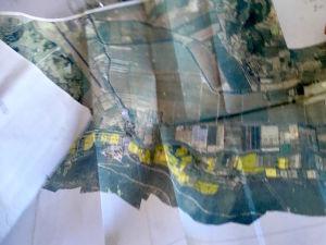 En karta över det inre av Piranbukten