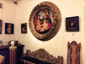 Interiör i renässanshallen på Österbottens museum.