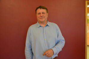 Fredrik Sundell, rektor för Gerby skola