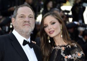 Harvey Weinstein och Georgina Chapman.