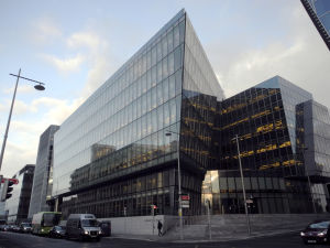 Facebooks europeiska högkvarter i Dublin, Irland.