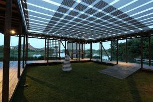 Rintala Eggertsson arkkitehtuuritoimiston suunnittelema pavilijonki Venetsian biennaalissa