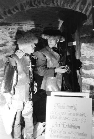 Veijo Pasanen ja Esko Roine Olavinlinnassa (1977).