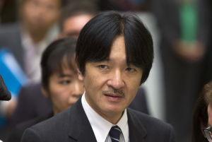 Prins Fumihito.