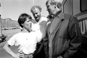 Neil Hardwick ohjaa Tuija Ernamoa ja Ilmari Saarelaista (1985).