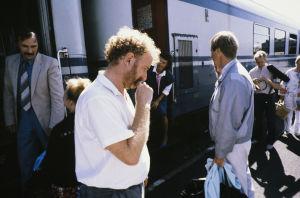 Neil Harwick Siskon ja sen veljen kuvauksissa (1985).