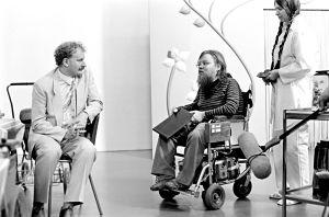Neil Hardwick ja Kalle Könkkölä (1986).