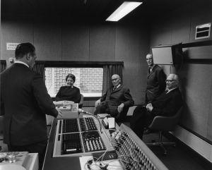 Hämeen alueradion äänitysstudio1970