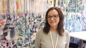 Lotta Pitkänen forskar i ledarskap och etik vid Vasa universitet