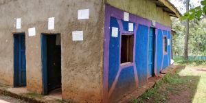 Etiopialaisen koulun kerhotalo