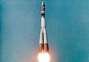 Juri Gagarin lähtee taivaalle