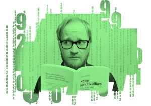 Pekka Vahvanen on kirjoittanut Kone kaikkivaltias -kirjan.