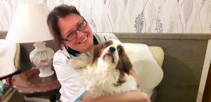 Anneli Heikkilä-Nordmyr har länge sysslat med hunduppfödning som hobby.