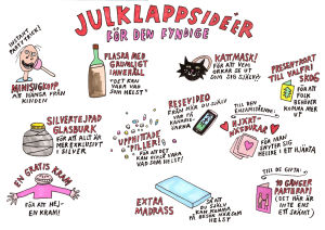 Illustrerade jultips