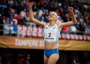 Sandra Eriksson, Sverigekampen 2018.