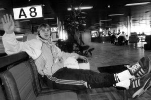 Matti Nykänen, Helsingfors 1986.