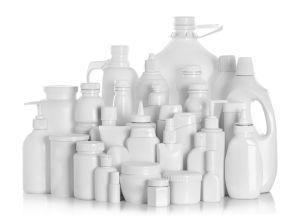 Muovipulloja kierrätykseen. I love muovi - lajittelu on ratkaisu.