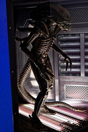 Alien kokokuvassa.