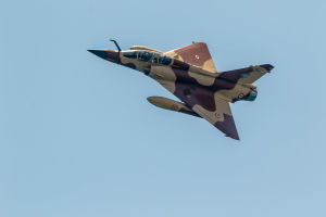 Franska flygvapnets Mirage 2000.