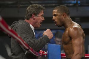 Sylvester Stallone valmentaa Rocky-elokuvista tutun Apollo Creedin poikaa elokuvassa Creed: The Legacy of Rocky.
