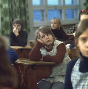 Marja koululaisena