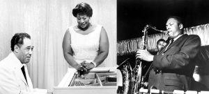 Duke Ellington, Ella Fitzgerald ja John Coltrane