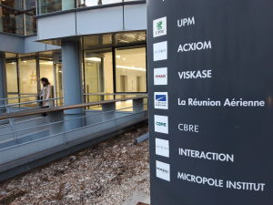 Bild på UPM-kontor i Paris.