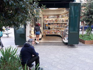 Kiosk i Frankrike.