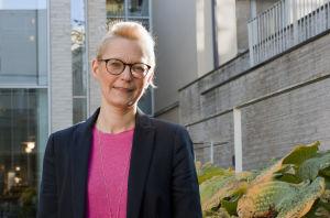 Porträtt på socialrätssakkuniga Ulrika Krook.
