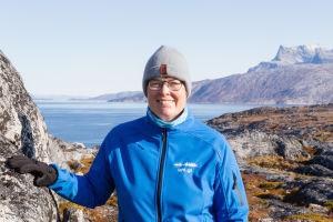 Grönlannin yliopiston tutkija Maria Ackrén