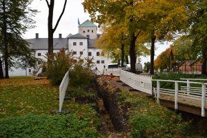 Turun linnan hulevesityömaa