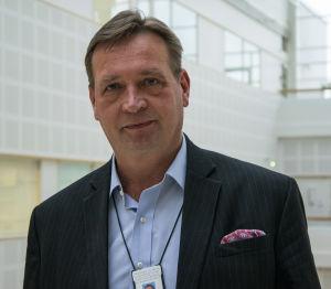 Sairaalajohtaja Petri Virolainen, Turun yliopistollinen keskussairaala.