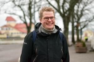 Porträttbild på Ville Vuorelma.